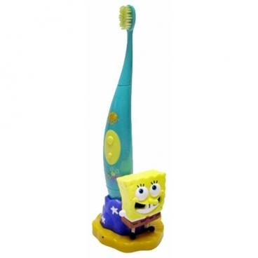 Электрическая зубная щетка SmileGuard Spongebob Sonic toothbrush