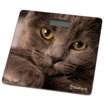 Весы Sakura SA-5065CT кошка