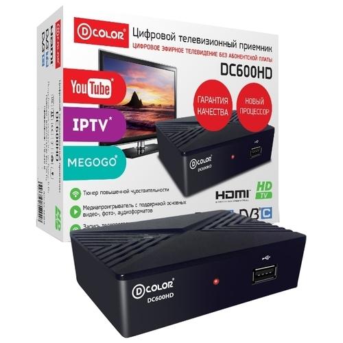 TV-тюнер D-COLOR DC600HD