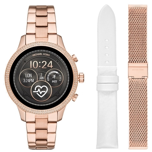 Часы MICHAEL KORS Access Runway Set (leather and mesh straps)
