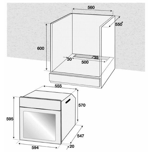Электрический духовой шкаф Beko BIE 22300 X