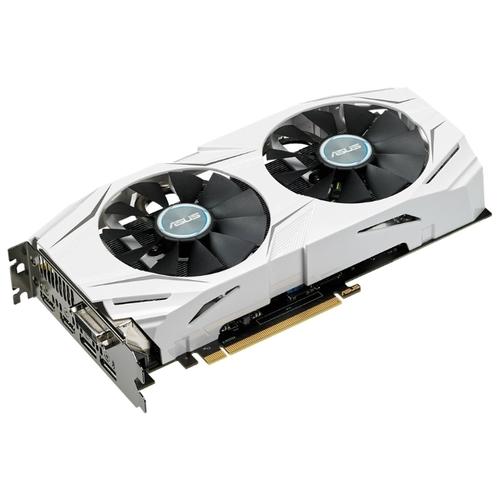 Видеокарта ASUS DUAL GeForce GTX 1060 1569MHz PCI-E 3.0 6144MB 8008MHz 192 bit DVI 2xHDMI 2xDisplayPort HDCP OC