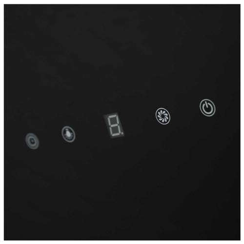 Каминная вытяжка LEX Plaza 600 Black