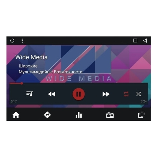 Автомагнитола Wide Media WM-CF3020NB-1/16 KIA Sportage 2010-2016