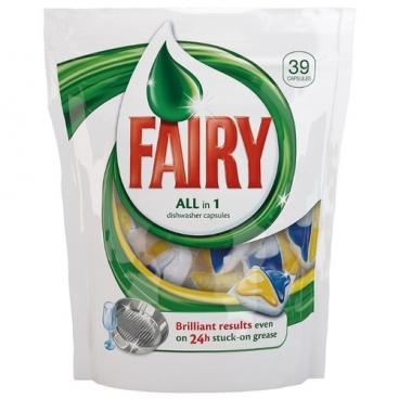 Fairy All in 1 капсулы для посудомоечной машины