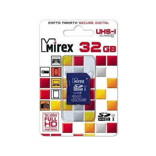 Карта памяти Mirex SDHC Class 10 UHS-I U1