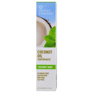 Зубная паста Desert Essence Coconut Oil Coconut Mint