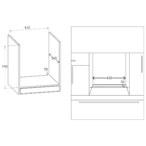 Электрический духовой шкаф Korting OKB 7951 CMW