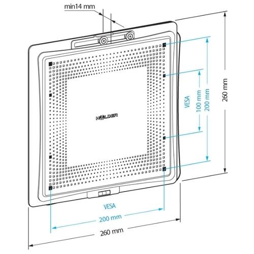 Кронштейн на стену Holder LCD-F2801