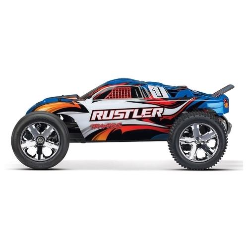Трагги Traxxas Rustler (TRA37054-1) 1:10 44.5 см