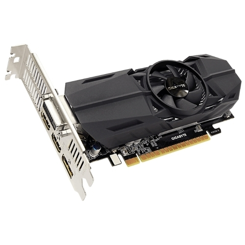 Видеокарта GIGABYTE GeForce GTX 1050 1392MHz PCI-E 3.0 2048MB 7008MHz 128 bit DVI 2xHDMI DisplayPort HDCP OC Low Profile