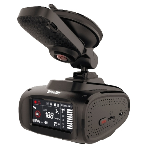 Видеорегистратор с радар-детектором Stealth MFU 650, GPS