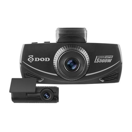 Видеорегистратор DOD LS500W, 2 камеры, GPS