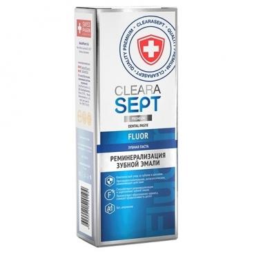 Зубная паста ClearaSept Fluor Реминерализация зубной эмали