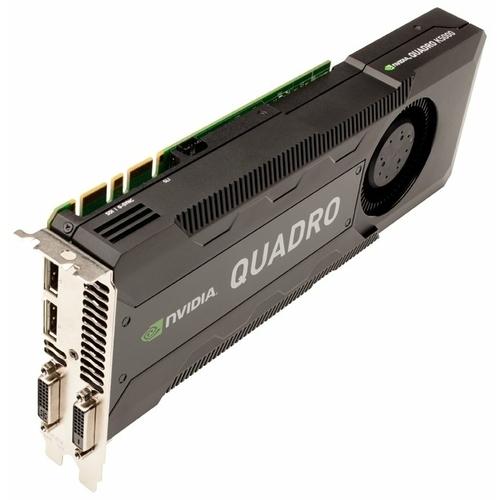 Видеокарта PNY Quadro K5000 PCI-E 2.0 4096Mb 256 bit 2xDVI