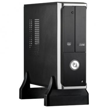 Компьютерный корпус ExeGate MI-205 450W Black/silver