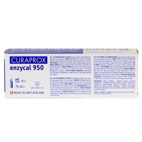 Зубная паста Curaprox Enzycal 950
