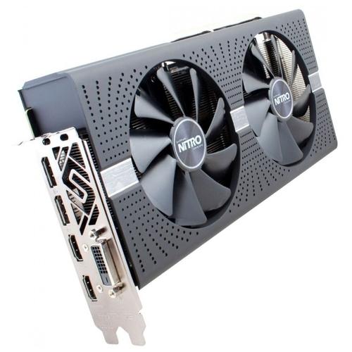 Видеокарта Sapphire Nitro+ Radeon RX 580 1411MHz PCI-E 3.0 4096MB 8000MHz 256 bit DVI 2xHDMI HDCP