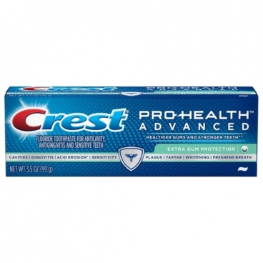 Зубная паста Crest Pro-health advanced extra gum protection