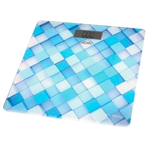Весы BBK BCS3001G голубой