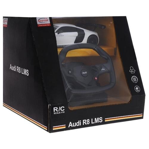 Легковой автомобиль Rastar Audi R8 LMS (53600-10) 1:18