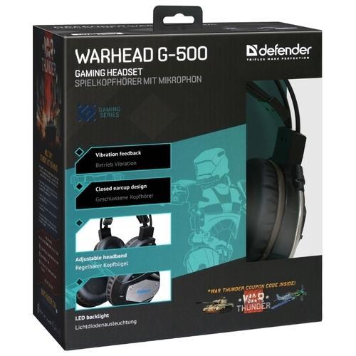 Компьютерная гарнитура Defender Warhead G-500