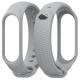 Mijobs Силиконовый рифленый ремешок для Xiaomi Mi Band 3