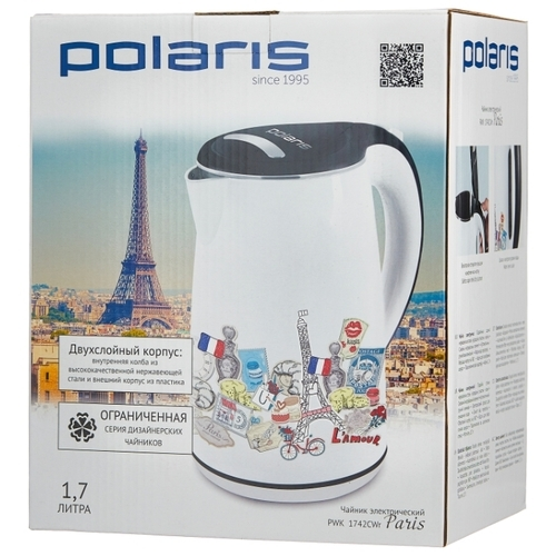 Чайник Polaris PWK 1742CWR Paris
