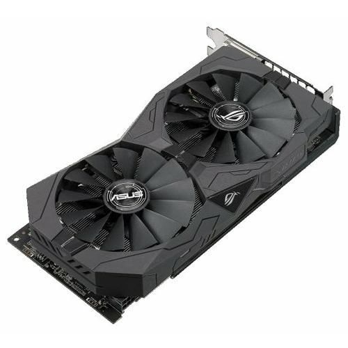 Видеокарта ASUS Radeon RX 570 1244MHz PCI-E 3.0 4096MB 7000MHz 256 bit 2xDVI HDMI DisplayPort HDCP Strix Gaming