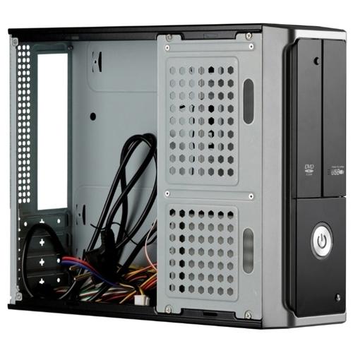 Компьютерный корпус ExeGate MI-205 300W Black/silver