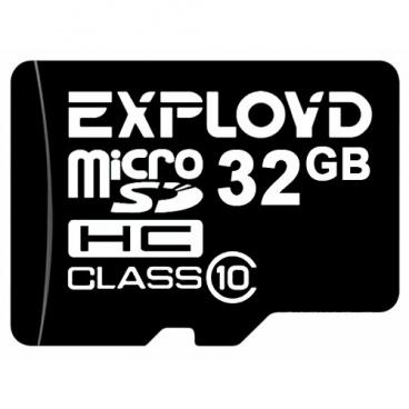 Карта памяти EXPLOYD microSDHC Class 10 32GB