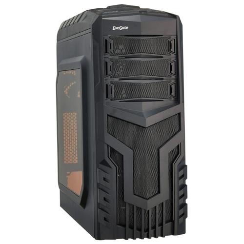 Компьютерный корпус ExeGate EVO-8204N w/o PSU Black
