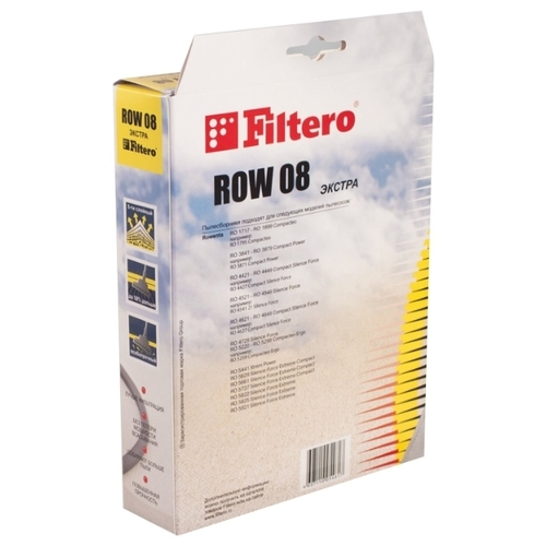 Filtero Мешки-пылесборники ROW 08 Экстра