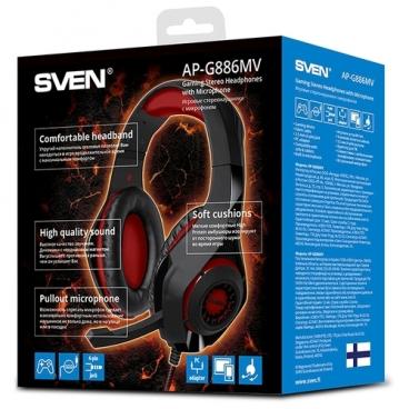 Компьютерная гарнитура SVEN AP-G886MV