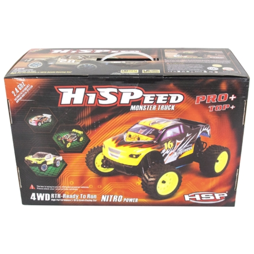 Монстр-трак HSP KidKing TOP (94186TOP) 1:16 25.1 см