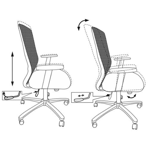Компьютерное кресло Бюрократ CH-899SL