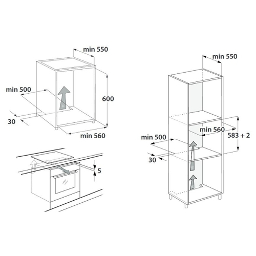 Электрический духовой шкаф Hotpoint-Ariston FIT 801 SC AN