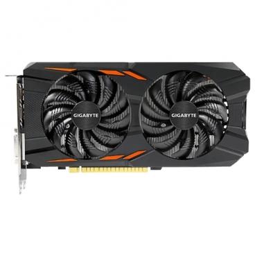 Видеокарта GIGABYTE GeForce GTX 1050 Ti 1316Mhz PCI-E 3.0 4096Mb 7000Mhz 128 bit DVI 3xHDMI HDCP Windforce