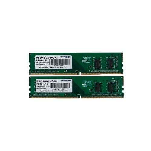 Оперативная память 4 ГБ 2 шт. Patriot Memory PSD48G2400K CL 17