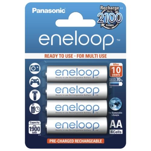 Аккумулятор Ni-Mh 1900 мА·ч Panasonic eneloop AA