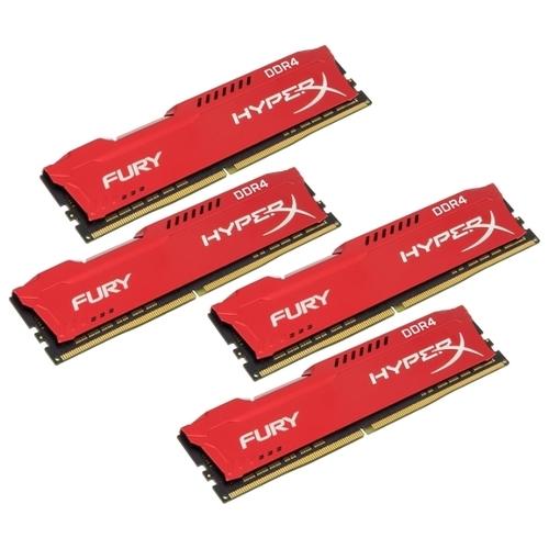 Оперативная память 16 ГБ 4 шт. HyperX HX424C15FRK4/64
