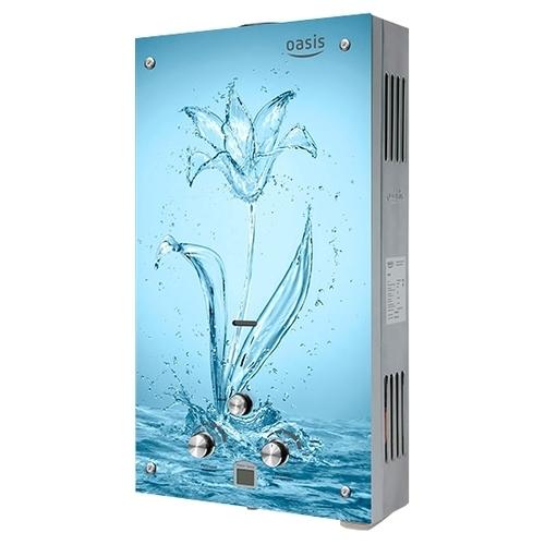 Проточный газовый водонагреватель Oasis Glass 20SG