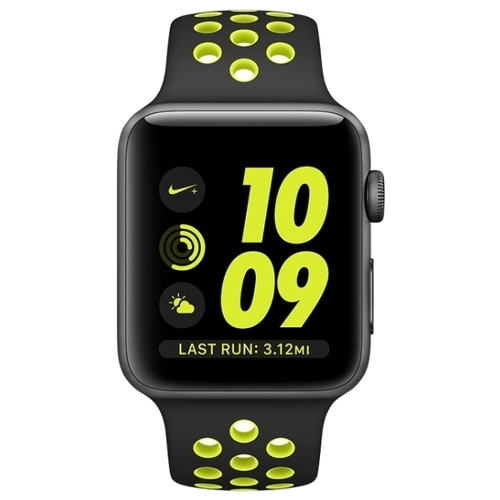 Часы Apple Watch Series 2 38mm with Nike Sport Band