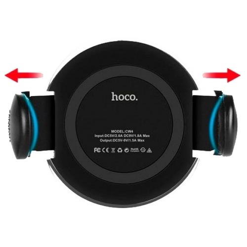 Держатель с беспроводной зарядкой Hoco CW4
