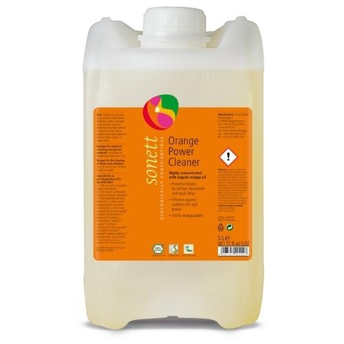 Orange Power Cleaner средство для удаления жирных загрязнений с маслом апельсиновой корки Sonett