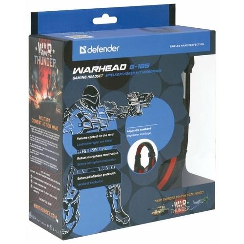 Компьютерная гарнитура Defender Warhead G-185