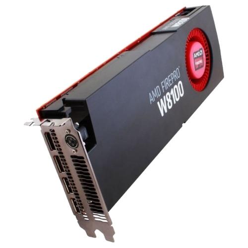 Видеокарта AMD FirePro W8100 824Mhz PCI-E 3.0 8192Mb 512 bit