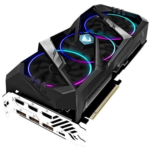 Видеокарта GIGABYTE GeForce RTX 2080 SUPER 1860MHz PCI-E 3.0 8192MB 15500MHz 256 bit 3xHDMI HDCP AORUS