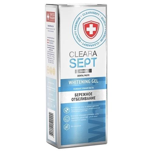 Зубная паста ClearaSept Whitening Gel Бережное отбеливание