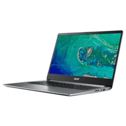 "Ноутбук Acer SWIFT 1 (SF114-32-P6XL) (Intel Pentium N5000 1100 MHz/14""/1920x1080/4GB/256GB SSD/DVD нет/Intel UHD Graphics 605/Wi-Fi/Bluetooth/Windows 10 Home)"